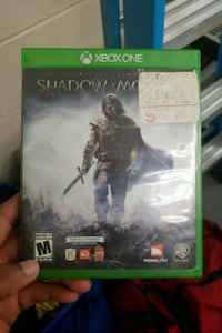 Xbox One Shadow of Mordor game case Silver Spring, 20903