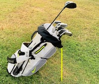Ping S55 irons, taylormade driver, cleveland putter, Nike bag Kapolei, 96707