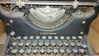 Old Underwood typewriter