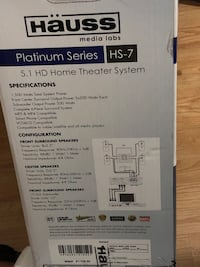 Home theatre all systems  Surrey, V4N 2W6