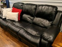 Reclining leather sofa couch  Nashville, 37206