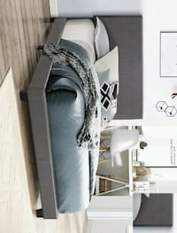 gray and white fabric sofa Houston, 77036
