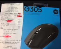 Logitech G305 Light speed wireless mouse Cambridge, N1R 1L2