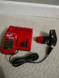 M12 battery and charger dual Sterling, 20164