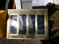 Brass plated fireplace cover Hamilton Township, 08690
