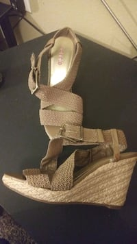New Pair of Strappy Sandals