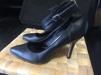 Almost new heels with ankle cuff Calgary, T3K 6C5
