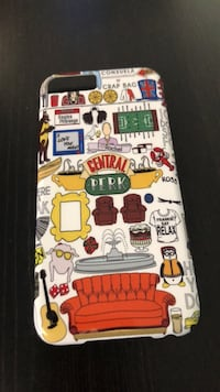 Custom-Made Friends iPhone 6 Hardcase Whitby