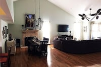Dual Ceiling Fan / Tropical ( right side of photo )