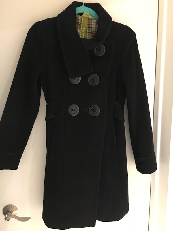 Soia & Kyo Wool Peacoat, Size Small 3ddca1c6-9ed4-443e-86cd-29bbb51c4a39