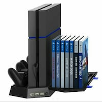 PS4 Cooling/Charging Stand w Disc Storage Southside, 37171