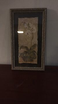 brown wooden framed painting of man Falls Church, 22046