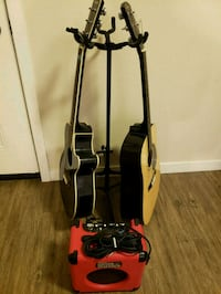 2 guitars, amp and stand for sale Spokane Valley, 99216