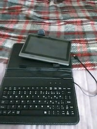 black tablet computer with keyboard Barnesville, 30204