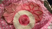 Fabulous hand made doilies 2337 mi