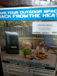 black and gray portable air conditioner box Gaithersburg, 20878