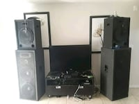 black and gray home theater system Sacramento, 95824