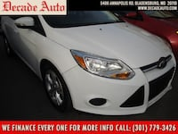 2013 Ford Focus white bladensburg, 20710