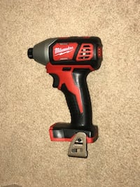 black and red Milwaukee cordless impact wrench Burnaby, V5H 4B8