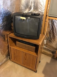 TV, stand, and VCR Frederick, 21702