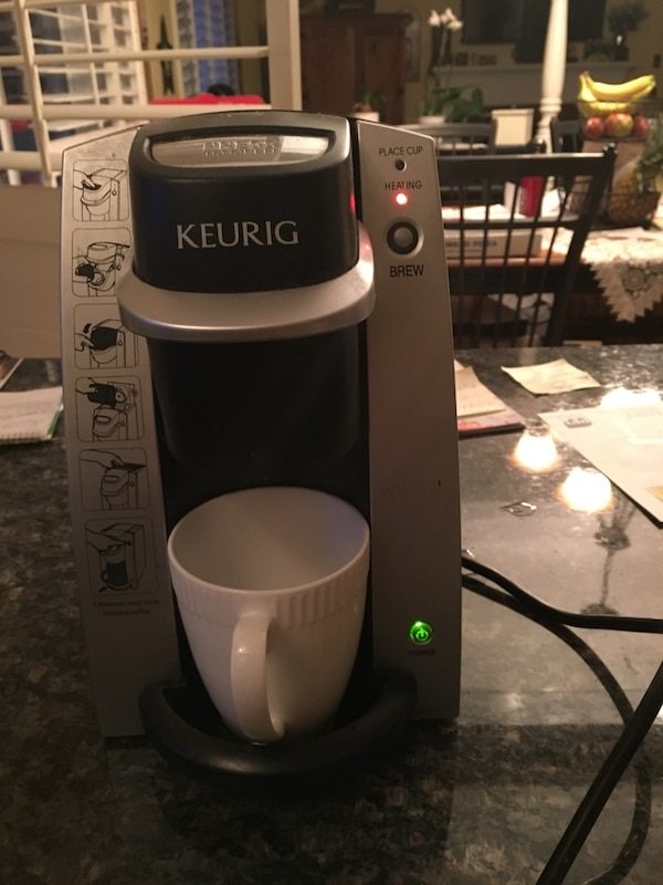 Used Single K Cup Brew Keurig Coffee Maker For Sale In Hamilton Letgo