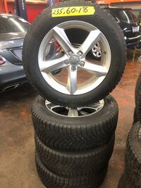 Audi Q5/7 pirelli winter tire and rims  Toronto