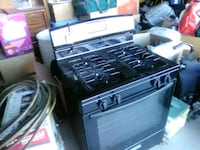 black and gray gas range oven Victorville, 92392