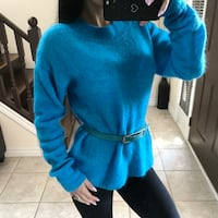 Wool & mohair sweater size XS / S / M Strathroy-Caradoc, N7G