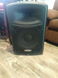 black and gray subwoofer speaker Compton, 90220