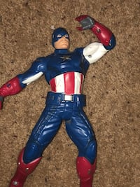 Captain America 15 in action figure  Calgary, T2Y 3A5