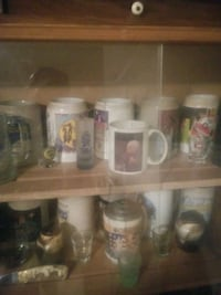 15 musikfest mugs including the first years Stein Lansford, 18232