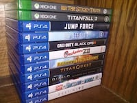 Ps4 Game Lot. Toronto