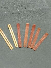Wooden Incense holders. Sticks available too. Holbrook, 11741