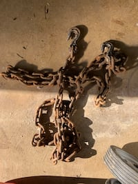 Chain with hooks. Different sizes and thickness. Alexandria, 22310