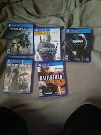 Ps4 games seperate prices or all for 80 Dandridge