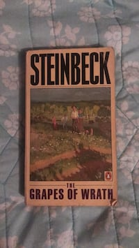 The Grapes of Wrath by John Steinbeck Manor, 78653