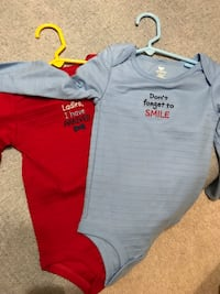 Set of two onsies. 18-24 months   no tags- but never been worn or washed. can meet in littleton, or downtown denver depending on the day