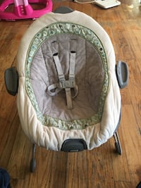 Baby's white and green bouncer Alexandria, 22306