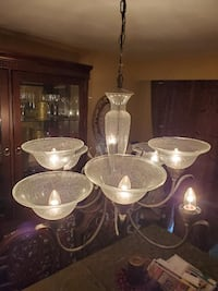 New Chandelier (globes sold separately)