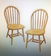Winsome Windsor Arrow-back solid wood dinning chair. Abingdon, 21009