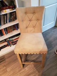 Upholstered Bar Stool Rockville