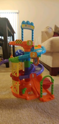 Vtech Go Go Smart Wheels Spinning Spiral Tower Set Gilbert, 85233