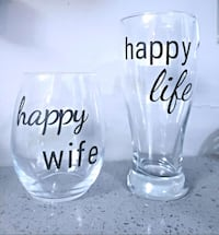 Wine and Beer Glass Set