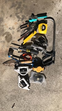 Just a pile of  tools with an older, excellent condition Klein Flathead Screwdriver Santa Rosa, 95401