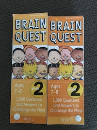 Brain quest for grade 2 North Dumfries, N1R