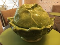 Large cabbage ceramic bowl with lid Nazareth, 18064
