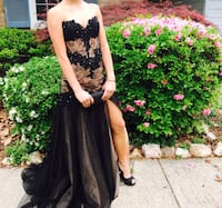 Women's black and nude corseted prom dress Woodbridge, 22192