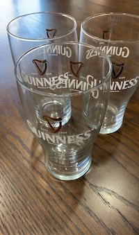 Glass, Guinness, beer glasses, set 3 Tustin, 92780