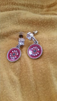 Ragin Cajun earrings