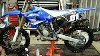 blue and black Yamaha motocross dirt bike Mount Airy, 21771